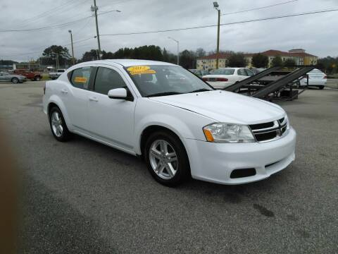 2012 Dodge Avenger for sale at Kelly & Kelly Supermarket of Cars in Fayetteville NC