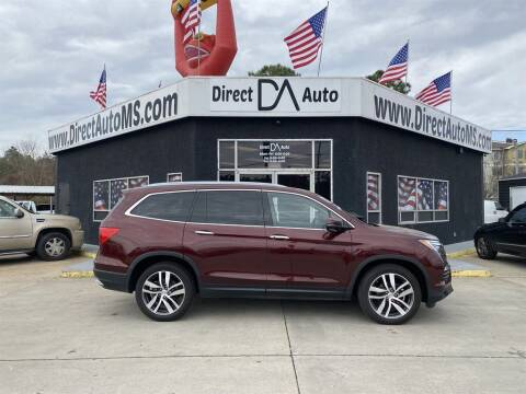 2018 Honda Pilot for sale at Direct Auto in D'Iberville MS