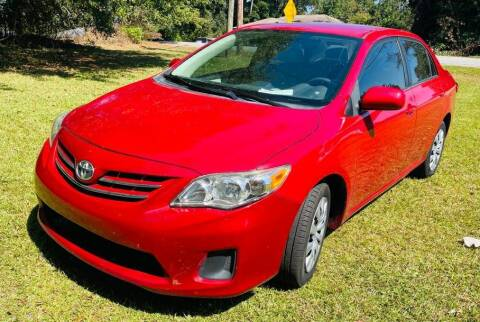 2013 Toyota Corolla for sale at Klassic Cars in Lilburn GA