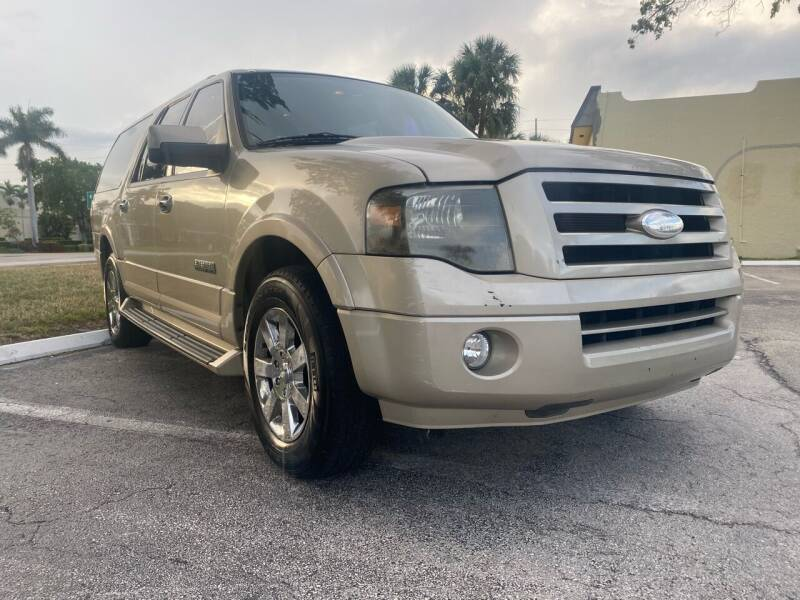 2007 Ford Expedition EL for sale at GERMANY TECH in Boca Raton FL