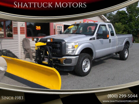 2012 Ford F-350 Super Duty for sale at Shattuck Motors in Newport VT