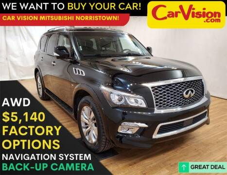 2015 Infiniti QX80 for sale at Car Vision Mitsubishi Norristown in Trooper PA
