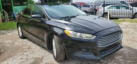 2016 Ford Fusion for sale at C.J. AUTO SALES llc. in San Antonio TX
