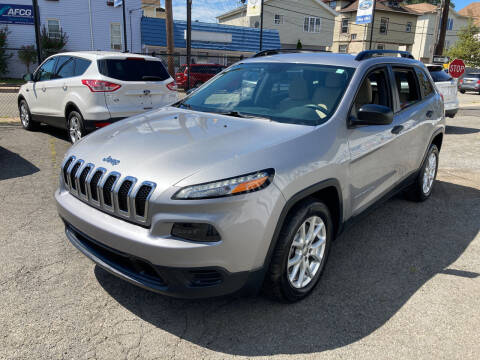 2016 Jeep Cherokee for sale at B & M Auto Sales INC in Elizabeth NJ