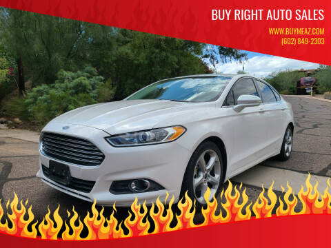 2016 Ford Fusion for sale at BUY RIGHT AUTO SALES in Phoenix AZ