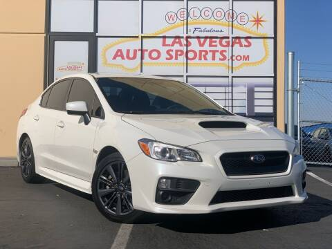 2017 Subaru WRX for sale at Las Vegas Auto Sports in Las Vegas NV