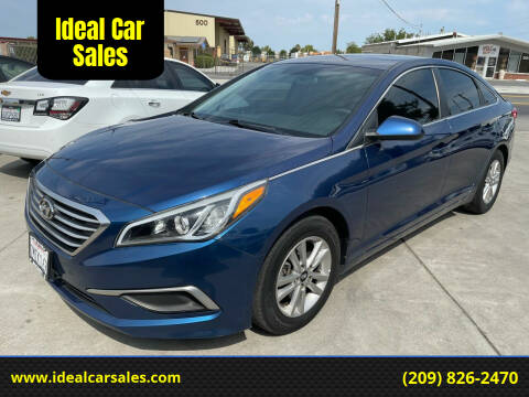 2016 Hyundai Sonata for sale at Ideal Car Sales in Los Banos CA