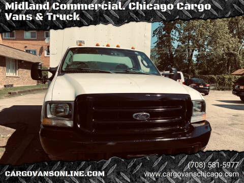 2004 Ford F-550 Super Duty for sale at Midland Commercial. Chicago Cargo Vans & Truck in Bridgeview IL