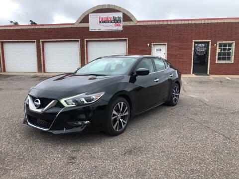 2016 Nissan Maxima for sale at Family Auto Finance OKC LLC in Oklahoma City OK