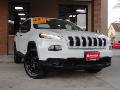2015 Jeep Cherokee for sale at Arandas Auto Sales in Milwaukee WI