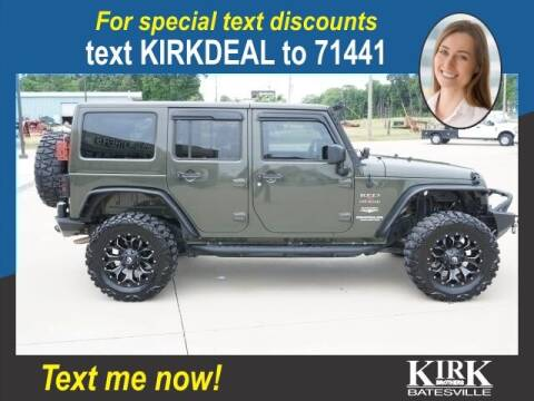 2015 Jeep Wrangler Unlimited for sale at Kirk Brothers Batesville in Batesville MS
