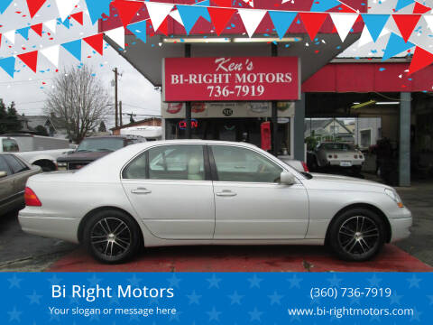 2002 Lexus LS 430 for sale at Bi Right Motors in Centralia WA
