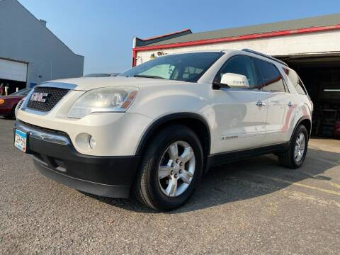 2008 GMC Acadia for sale at Auto Tech Car Sales and Leasing in Saint Paul MN
