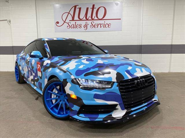 2016 Audi A7 for sale at Auto Sales & Service Wholesale in Indianapolis IN