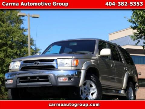 2001 Toyota 4Runner for sale at Carma Auto Group in Duluth GA