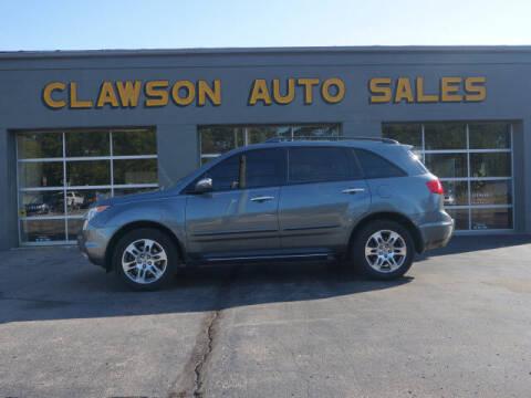 2008 Acura MDX for sale at Clawson Auto Sales in Clawson MI