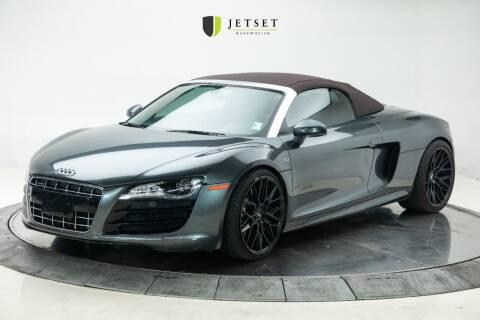 2011 Audi R8 for sale at Jetset Automotive in Cedar Rapids IA