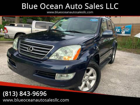 2004 Lexus GX 470 for sale at Blue Ocean Auto Sales LLC in Tampa FL