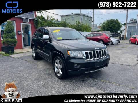 2012 Jeep Grand Cherokee for sale at CJ Motors Inc. in Beverly MA