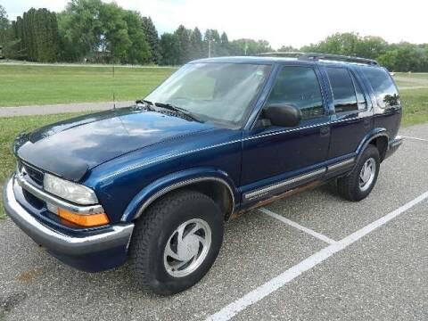 1999 Chevrolet Blazer for sale at Dales Auto Sales in Hutchinson MN