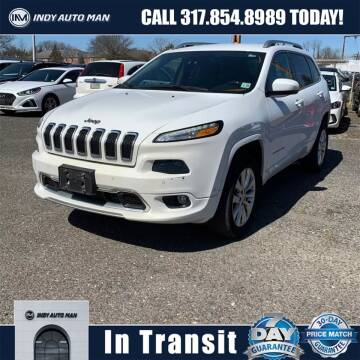 2016 Jeep Cherokee for sale at INDY AUTO MAN in Indianapolis IN