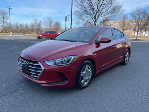 2017 Hyundai Elantra for sale at Dreams Auto Group LLC in Sterling VA