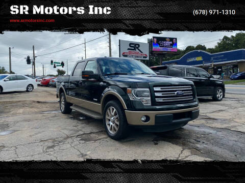 2013 Ford F-150 for sale at SR Motors Inc in Gainesville GA