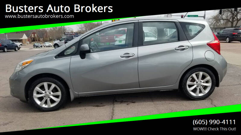 2014 Nissan Versa Note for sale at Busters Auto Brokers in Mitchell SD