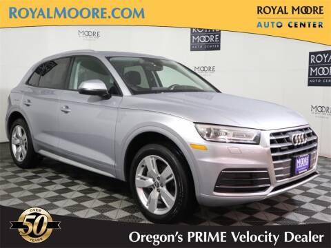 2018 Audi Q5 for sale at Royal Moore Custom Finance in Hillsboro OR