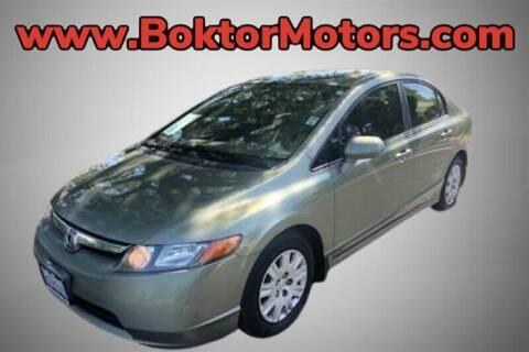2008 Honda Civic for sale at Boktor Motors in North Hollywood CA