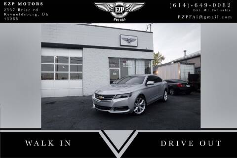 2014 Chevrolet Impala for sale at EZP Motors in Reynoldsburg OH