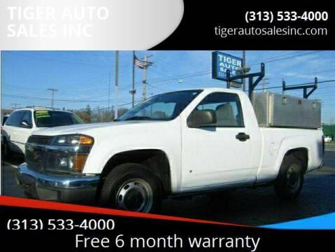 2007 Chevrolet Colorado for sale at TIGER AUTO SALES INC in Redford MI