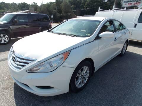 2012 Hyundai Sonata for sale at Deer Park Auto Sales Corp in Newport News VA