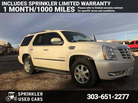 2009 Cadillac Escalade for sale at Sprinkler Used Cars in Longmont CO