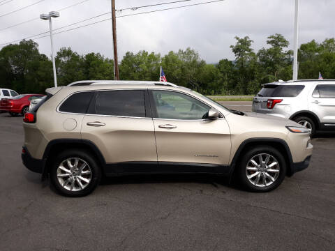 2014 Jeep Cherokee for sale at Feduke Auto Outlet in Vestal NY