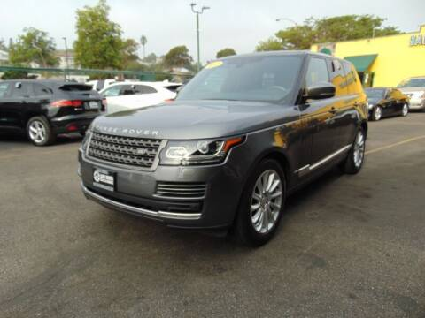 2017 Land Rover Range Rover for sale at Santa Monica Suvs in Santa Monica CA