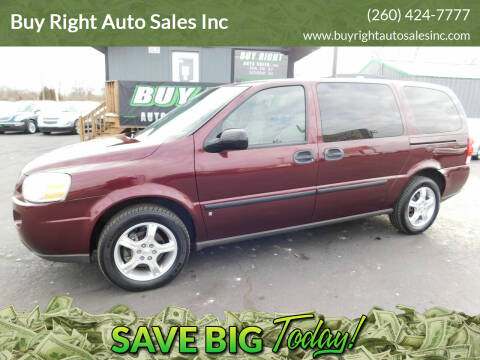 2008 Chevrolet Uplander for sale at Buy Right Auto Sales Inc in Fort Wayne IN