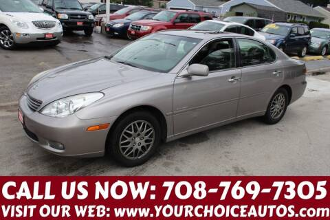 2004 Lexus ES 330 for sale at Your Choice Autos in Posen IL
