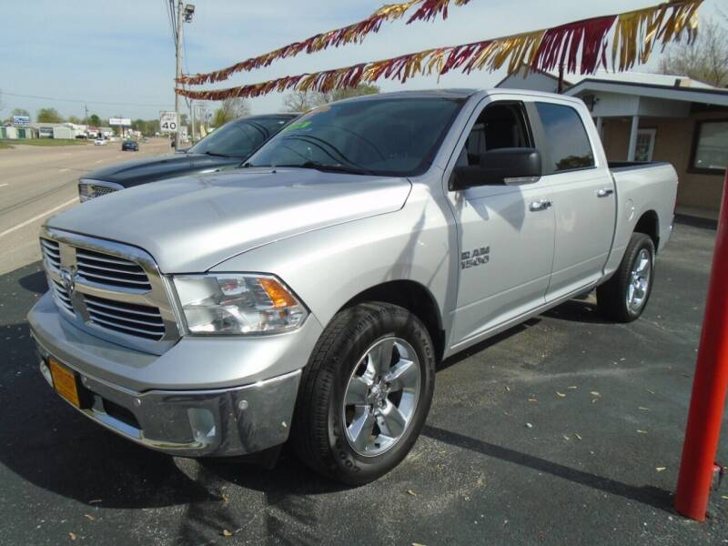 2017 RAM Ram Pickup 1500 for sale at River City Auto Sales in Cottage Hills IL