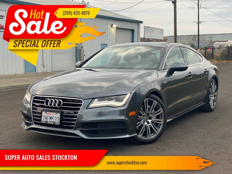 2012 Audi A7 for sale at SUPER AUTO SALES STOCKTON in Stockton CA