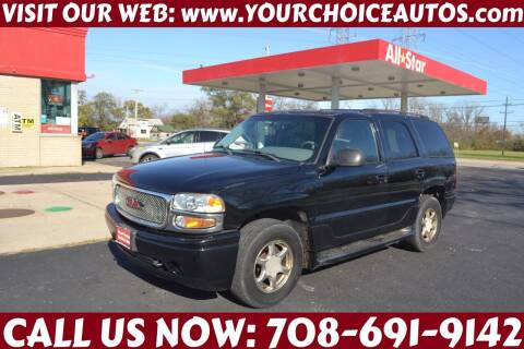 2002 GMC Yukon for sale at Your Choice Autos - Crestwood in Crestwood IL