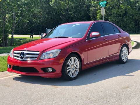 2008 Mercedes-Benz C-Class for sale at L G AUTO SALES in Boynton Beach FL
