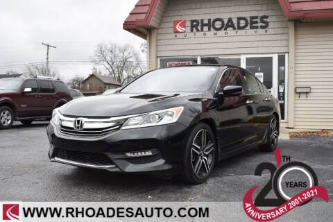 2017 Honda Accord for sale at Rhoades Automotive in Columbia City IN