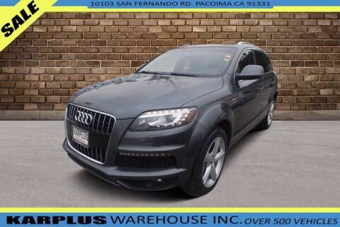 2013 Audi Q7 for sale at Karplus Warehouse in Pacoima CA