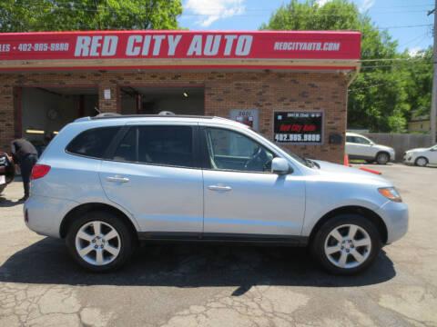 2007 Hyundai Santa Fe for sale at Red City  Auto in Omaha NE