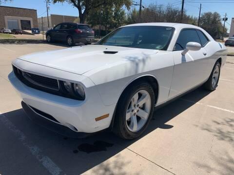 2012 Dodge Challenger for sale at Sima Auto Sales in Dallas TX