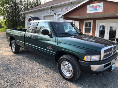 1998 Dodge Ram Pickup 2500 for sale at M&A Auto in Newport VT