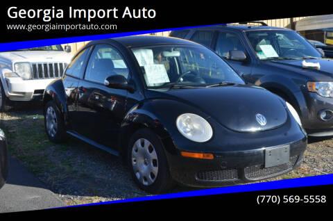 2010 Volkswagen New Beetle for sale at Georgia Import Auto in Alpharetta GA