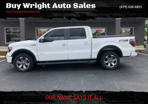 2013 Ford F-150 for sale at Buy Wright Auto Sales in Rogers AR