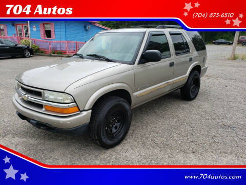 2002 Chevrolet Blazer for sale at 704 Autos in Statesville NC